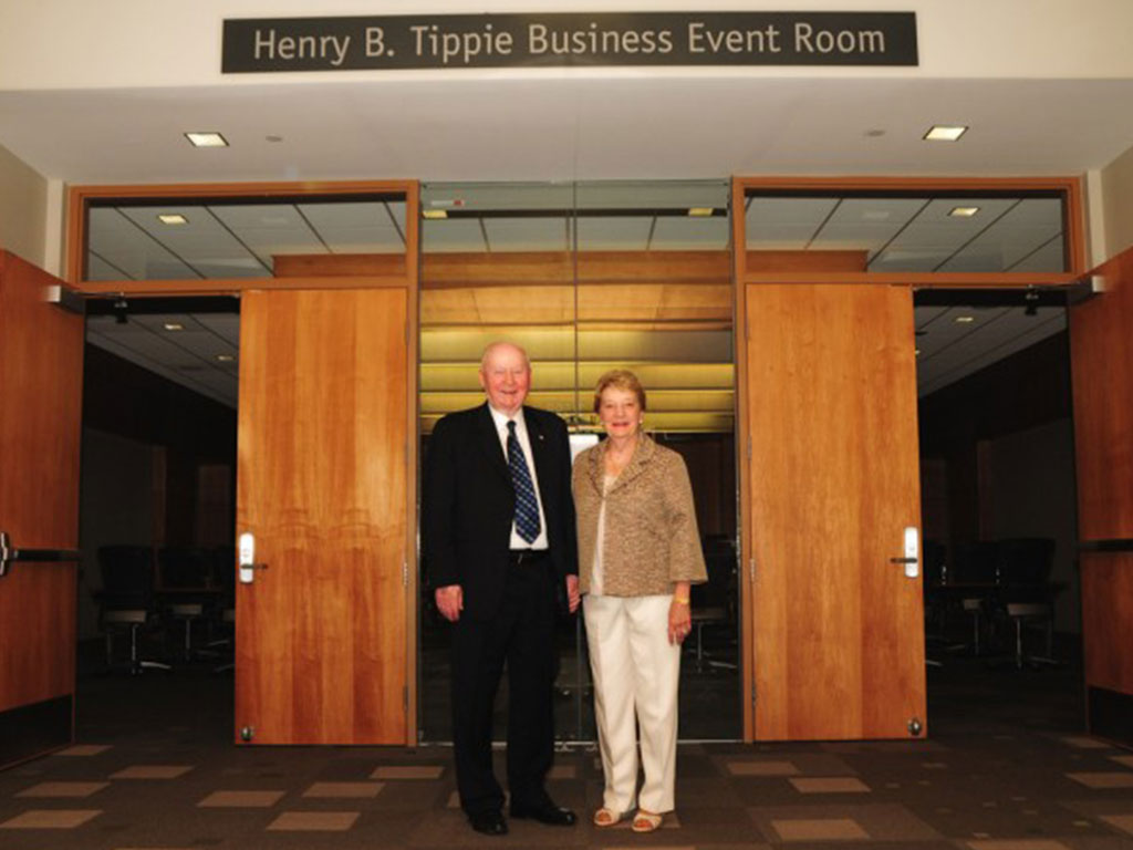 Henry B. Tippie Business Event Room