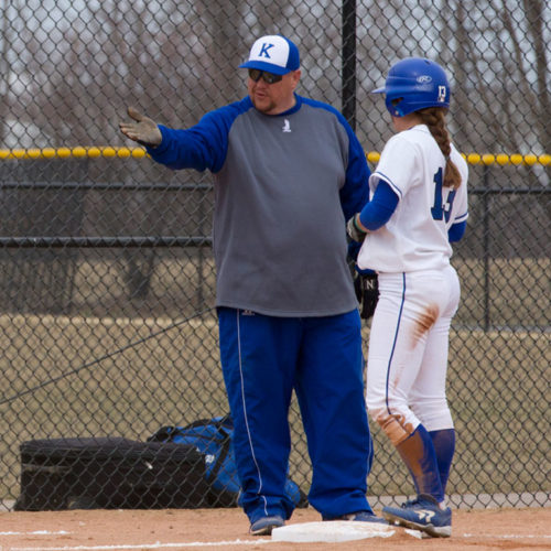 coach joe yegge and player shelby crist