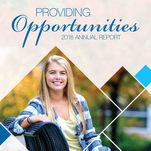 Providing Opportunities - 2018 Kirkwood Foundation Annual Report