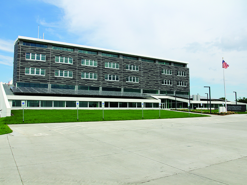 Kirkwood Regional Center at the University of Iowa Featured