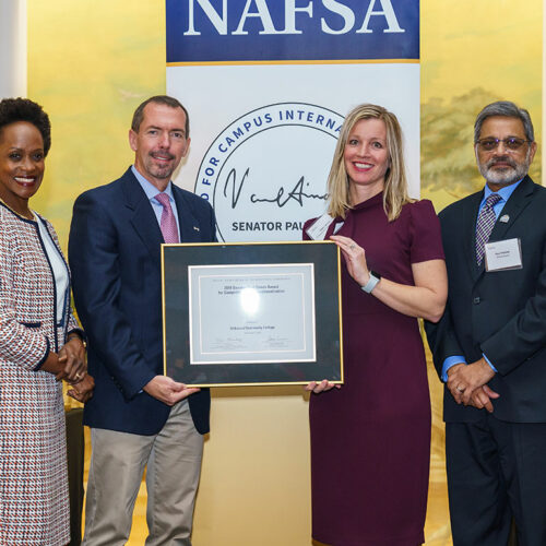 Kirkwood NAFSA Award Featured