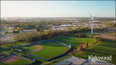 Kirkwood Community College Background Video Wind Turbine thumbnail