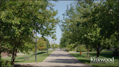 Kirkwood Community College Background Video Main Campus Trees thumbnail