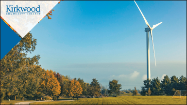 Kirkwood Community College Wind Turbine Fall thumbnail